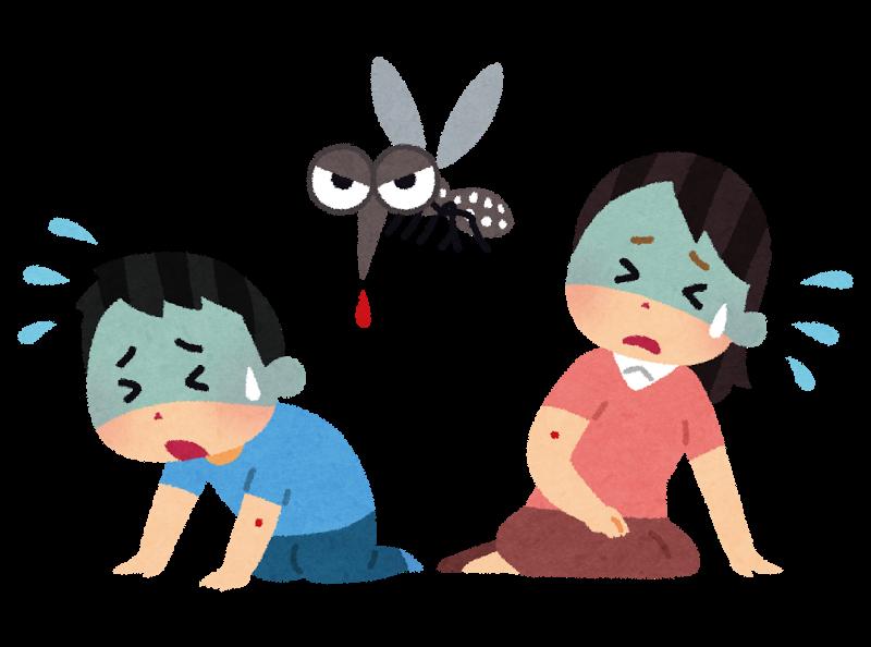 デング熱やマラリア、ジカウイルスを媒介する害虫の蚊(カ)