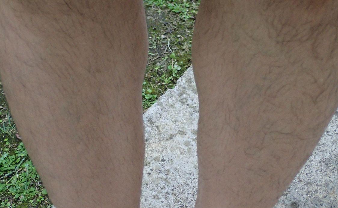 水で薄めたポッカレモン果汁を足や腕に塗って蚊よけ効果を試してみる